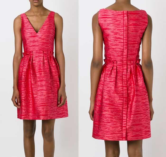 Lanvin Brocade Dress