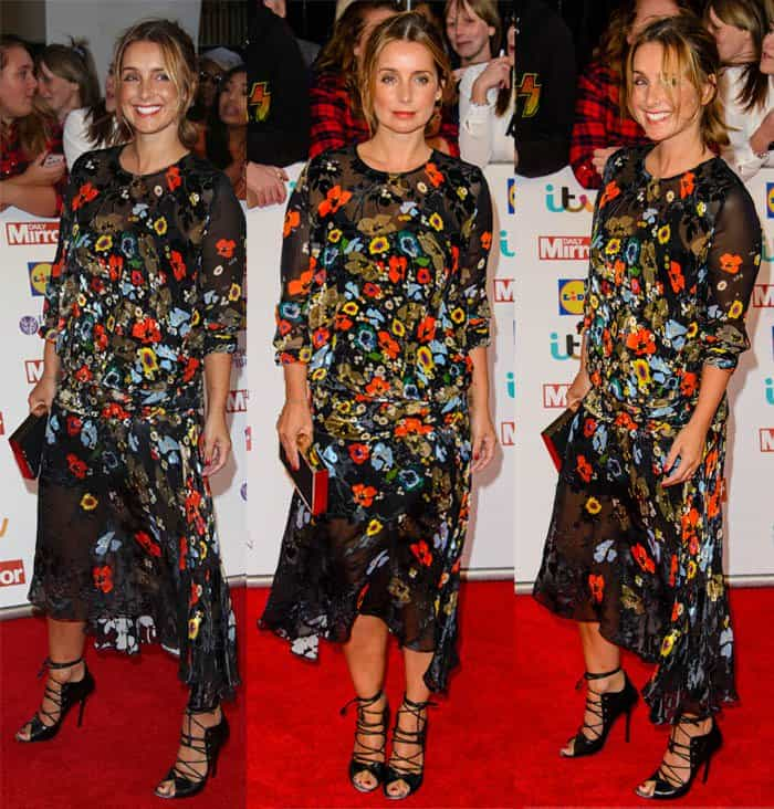 Louise Redknapp at the Daily Mirror Pride of Britain Awards 2015 held at Grosvenor House Hotel in London on September 28, 2015