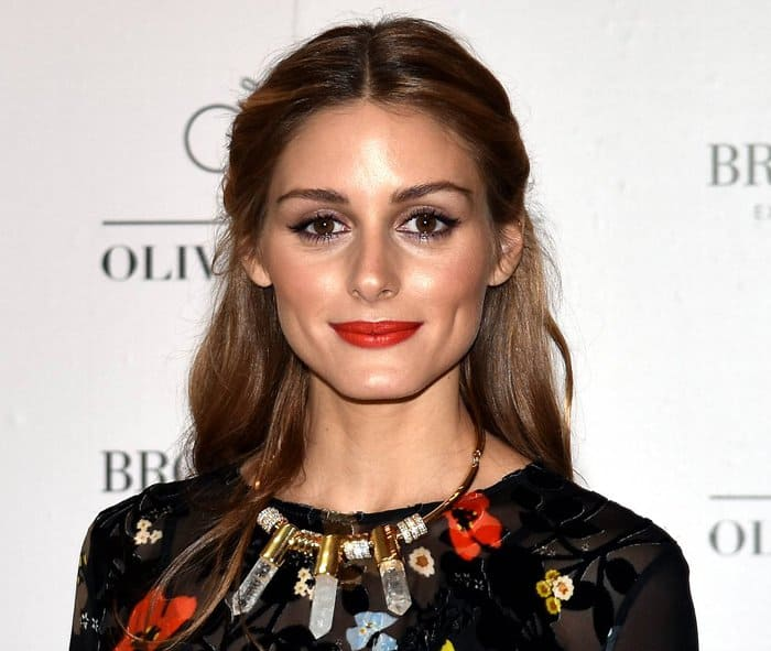 New Yorker Olivia Palermo at Brown Thomas to launch Ciate London Brand in Ireland on October 9, 2015