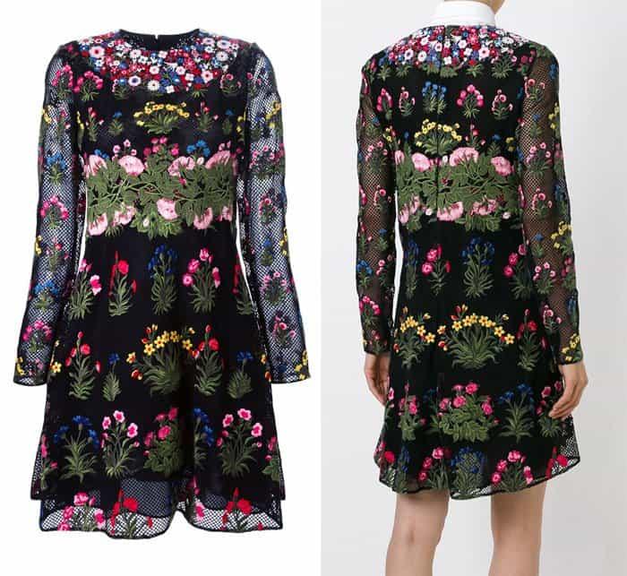 Valentino Primavera Embroidered Dress