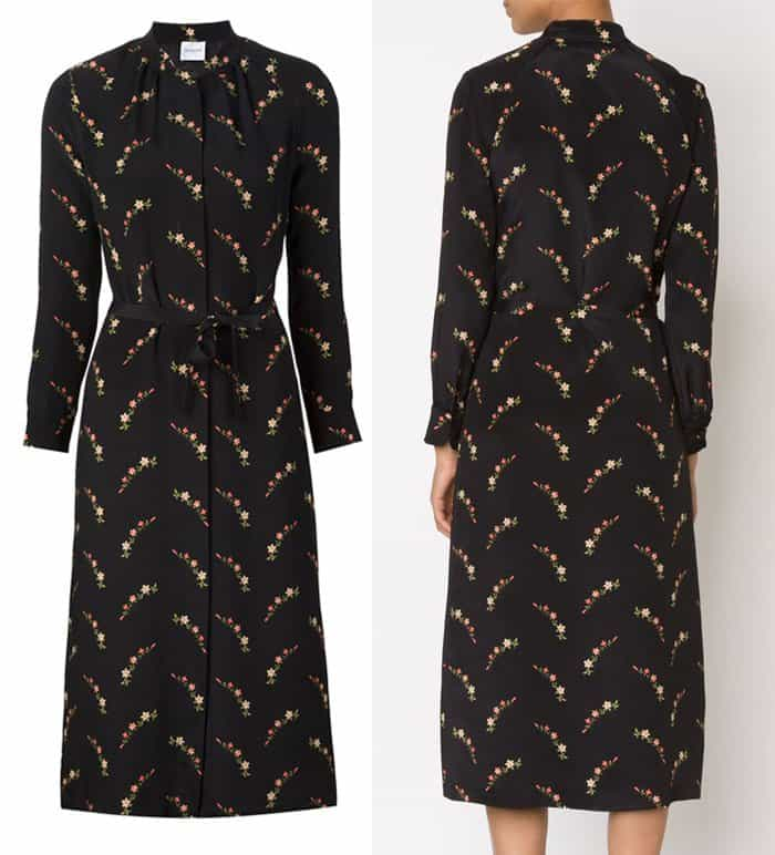 Vilshenko Floral Shirt Dress