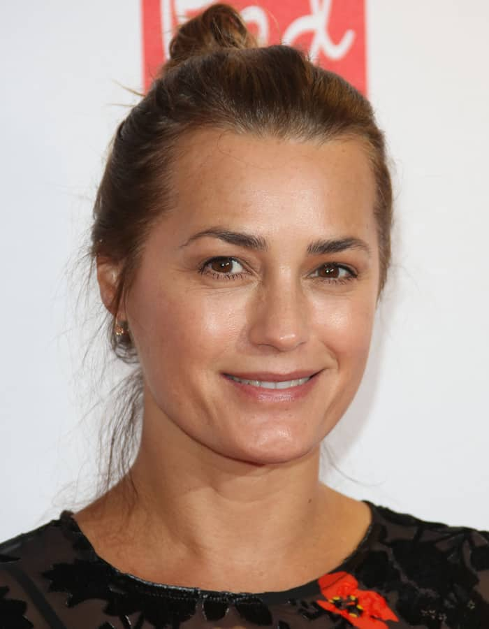 Yasmin Le Bon at the Red Women of the Year 2015 held at the Skylon Bar in London on October 12, 2015