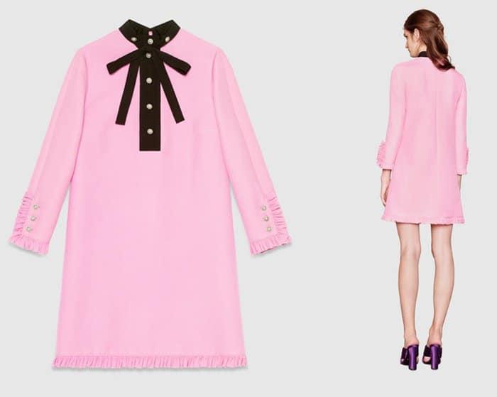 Gucci Silk Wool Shirt Dress