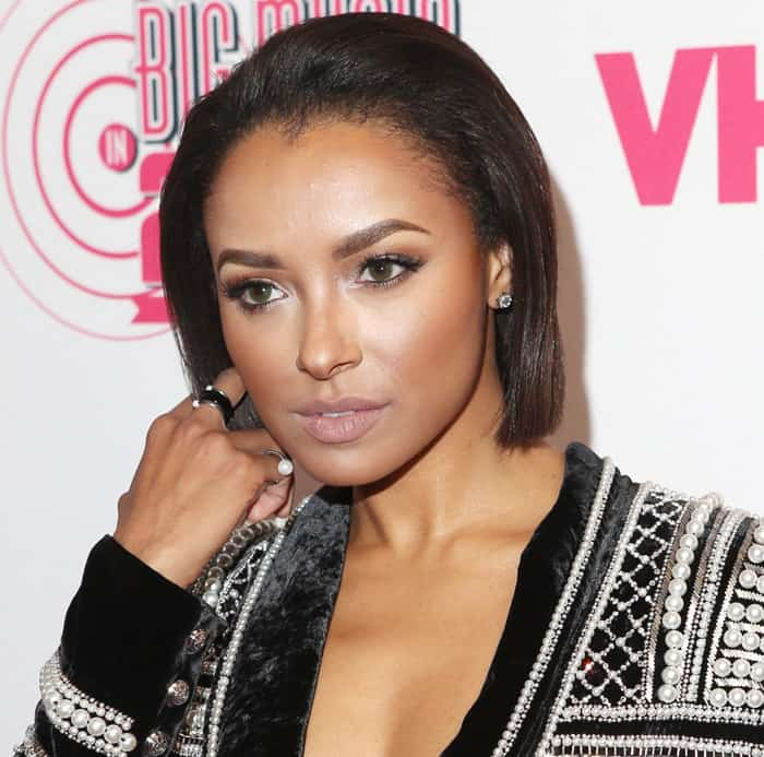 Kat Graham at the 3rd Annual 'VH1 Big Music in 2015: You Oughta Know' hosted by Mel B at The Armory Foundation in New York on November 12, 2015