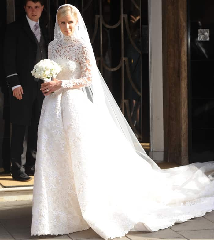 Best Wedding Gowns 2015: 7 Of The Best Celebrity Wedding Gowns Of 2015