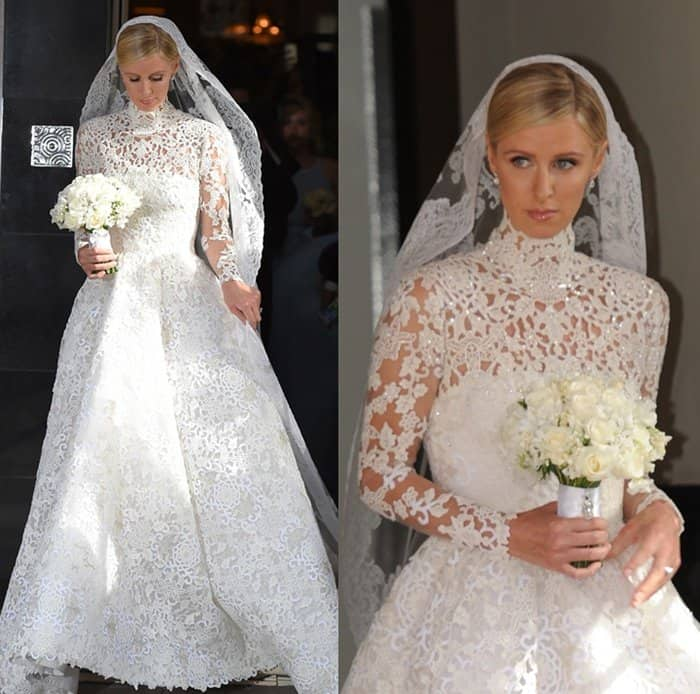 7 Of The Best Celebrity Wedding Gowns Of 2015