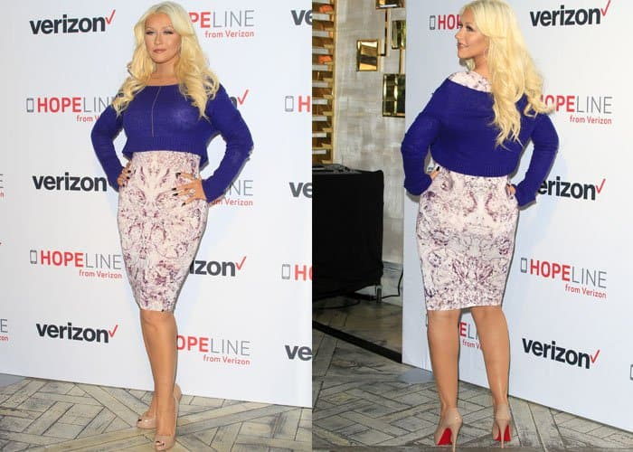 Christina Aguilera Worst Dressed 2015 1