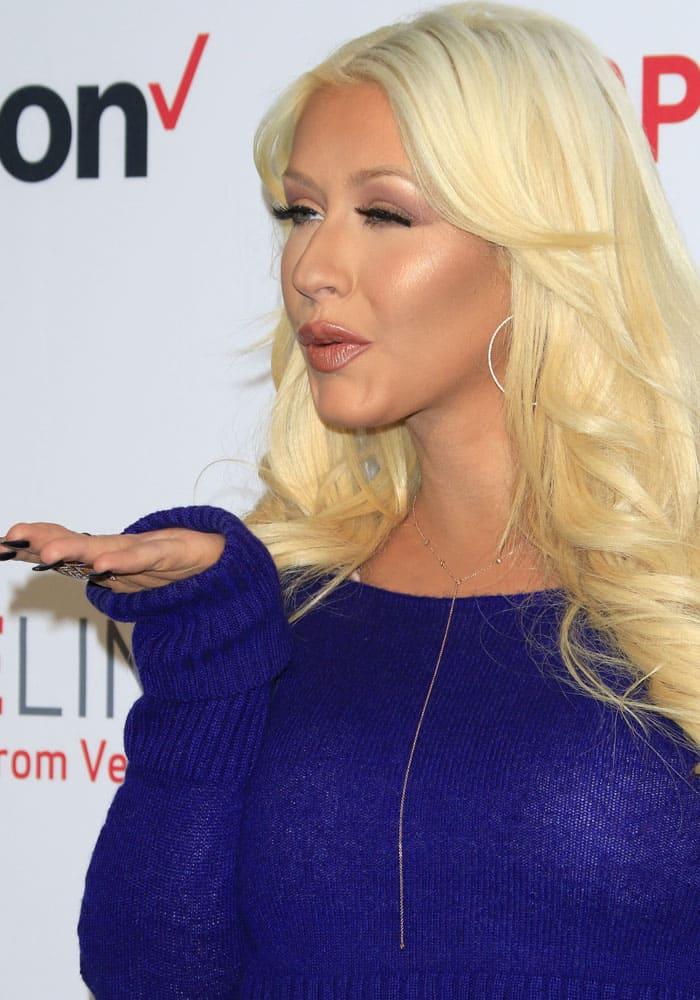 Christina Aguilera Worst Dressed 2015 2