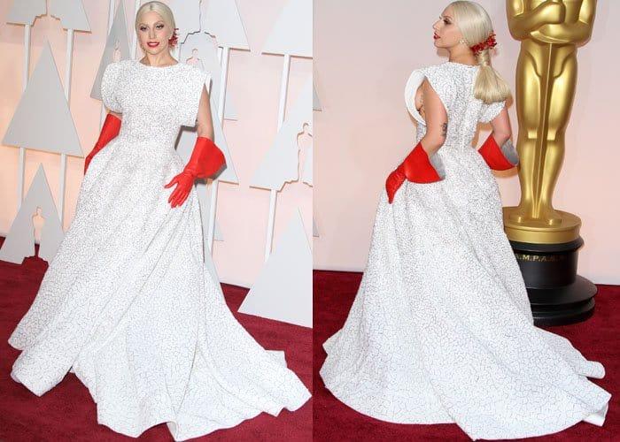 Lady Gaga Worst Dressed 2015 1