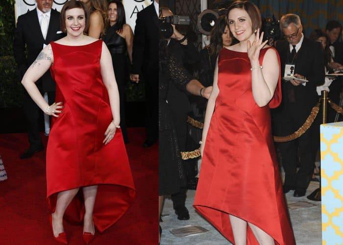 Lena Dunham Worst Dressed 2015 1