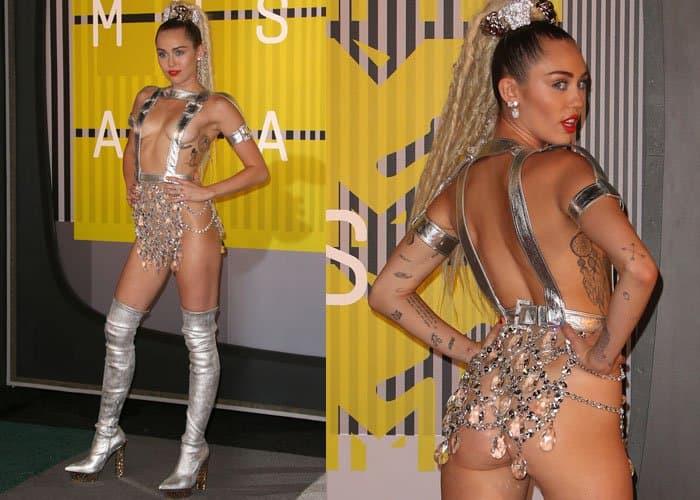 Miley Cyrus Worst Dressed 2015 1