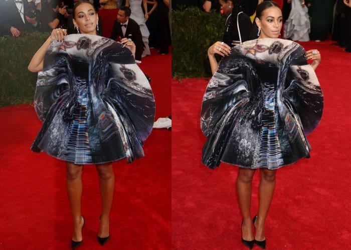 Solange Knowles Worst Dressed 2015 1