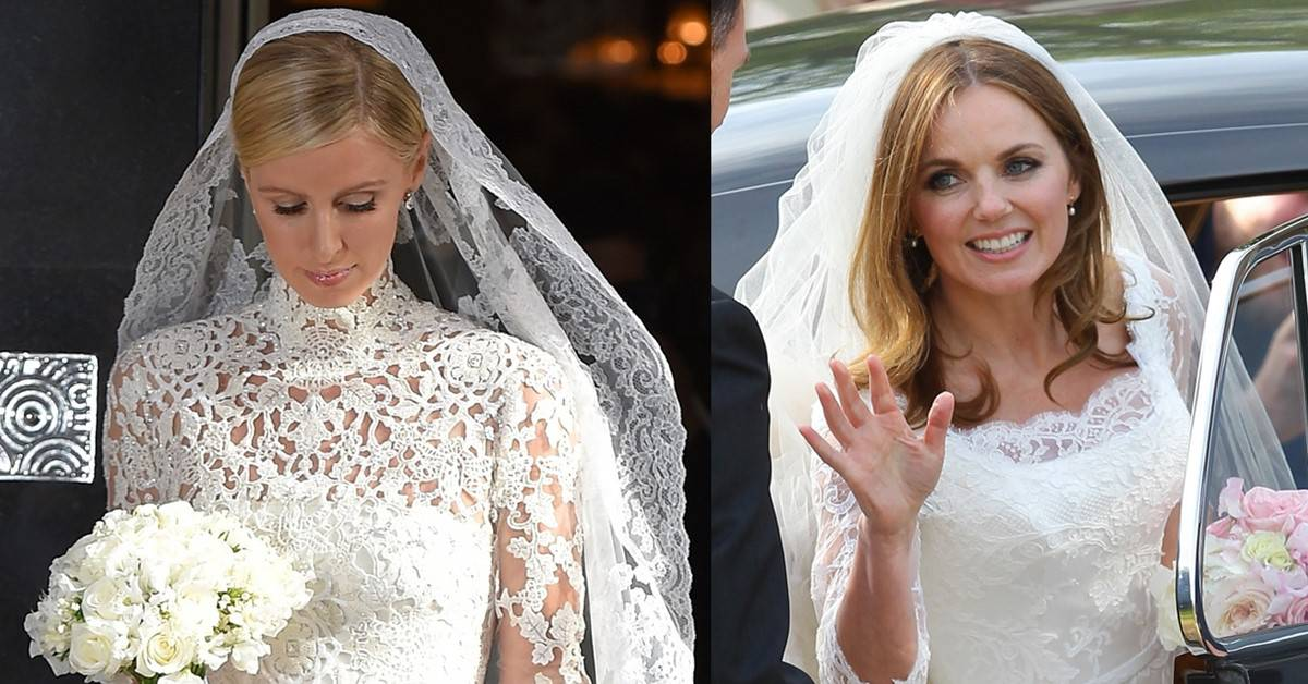 Wedding Gowns 2015: 7 Of The Best Celebrity Wedding Gowns Of 2015