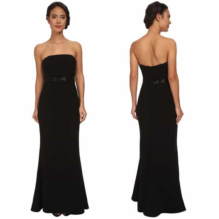 Calvin Klein Strapless Gown