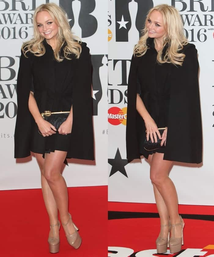 Emma Bunton BRIT Awards 2016