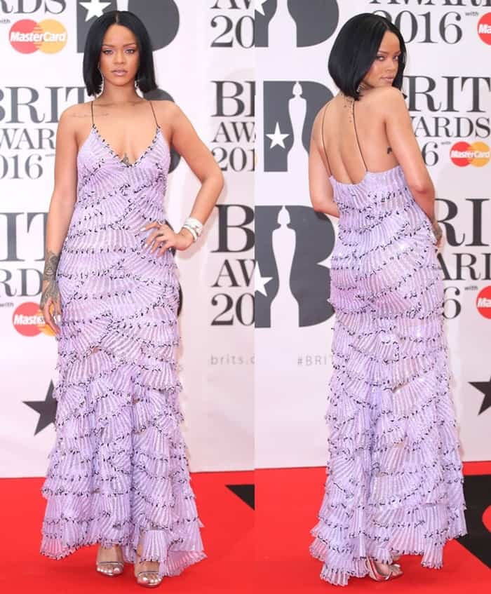 Rihanna The Brit Awards 2016