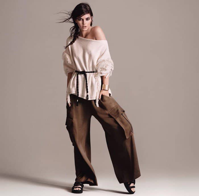 Kendall Jenner Cargo Pants