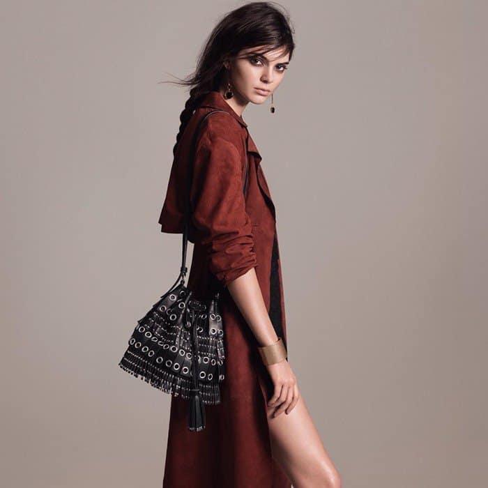 Kendall Jenner Studded Bag