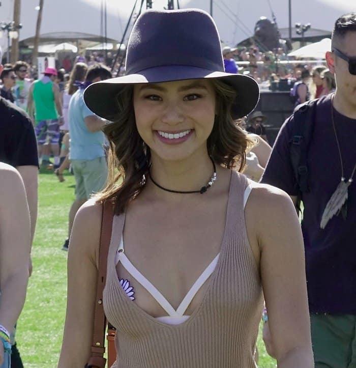 Coachella 2016 -Jamie Chung