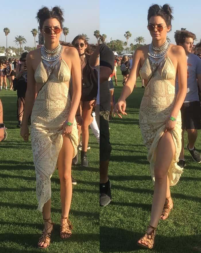 Coachella 2016 - Kendall Jenner