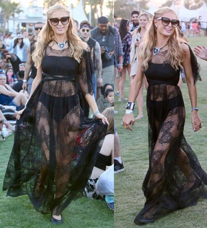 Coachella 2016 - Paris Hilton