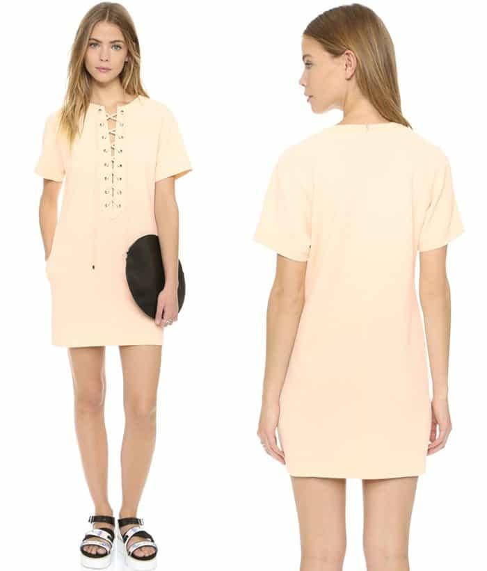English Factory Lace Up Dress3