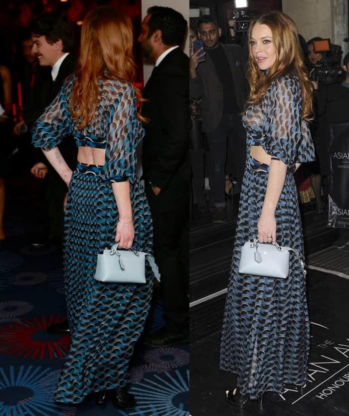 Lindsay Lohan The Asian Awards 2016