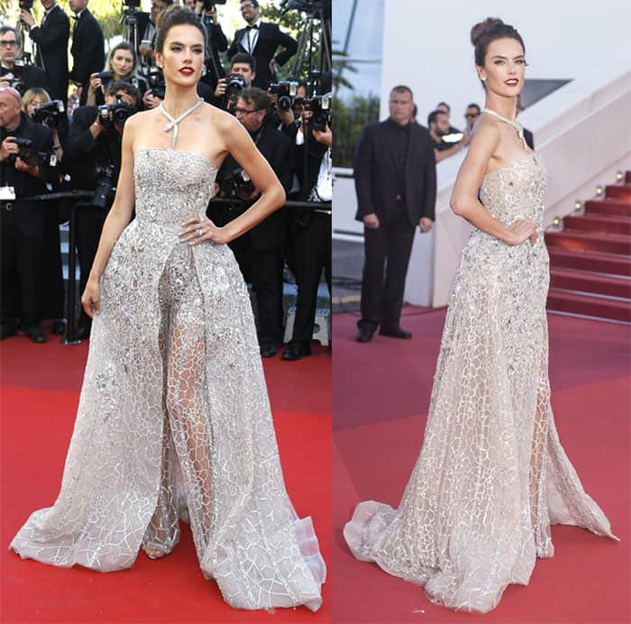 Alessandra Ambrosio Zuhair Murad Gown2