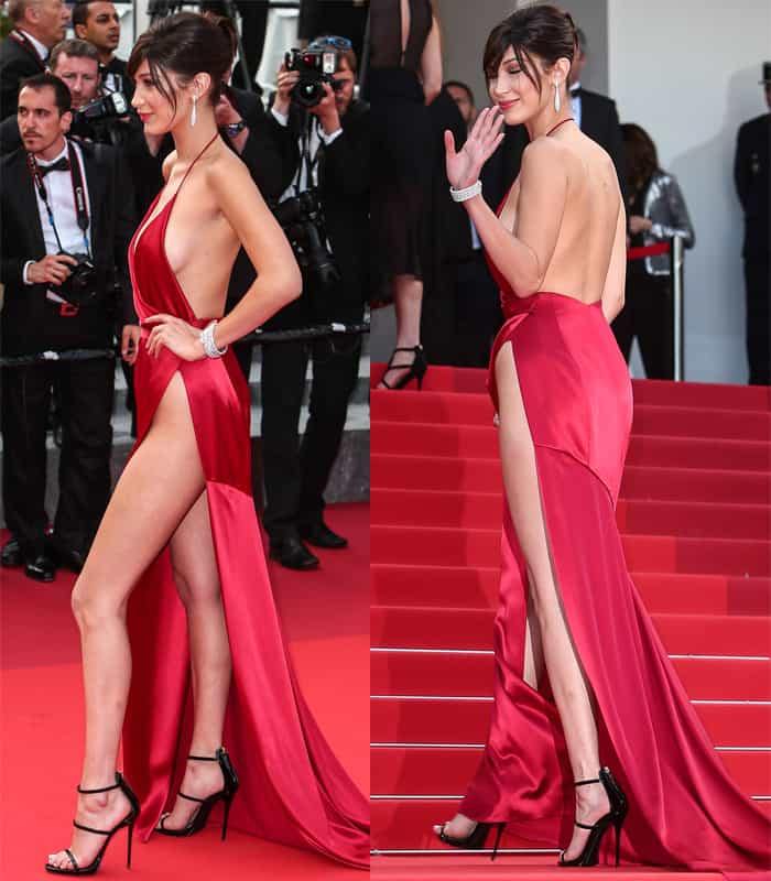 Bella Hadid Alexandre Vauthier Dress2