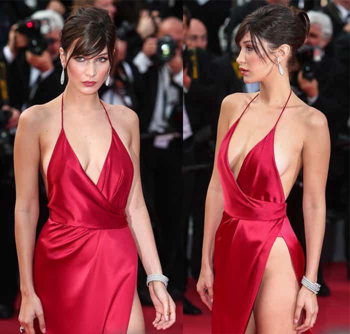 Bella Hadid Alexandre Vauthier Dress3