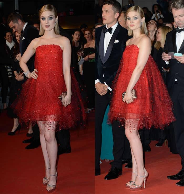 Bella Heathcote Armani Prive Dress1