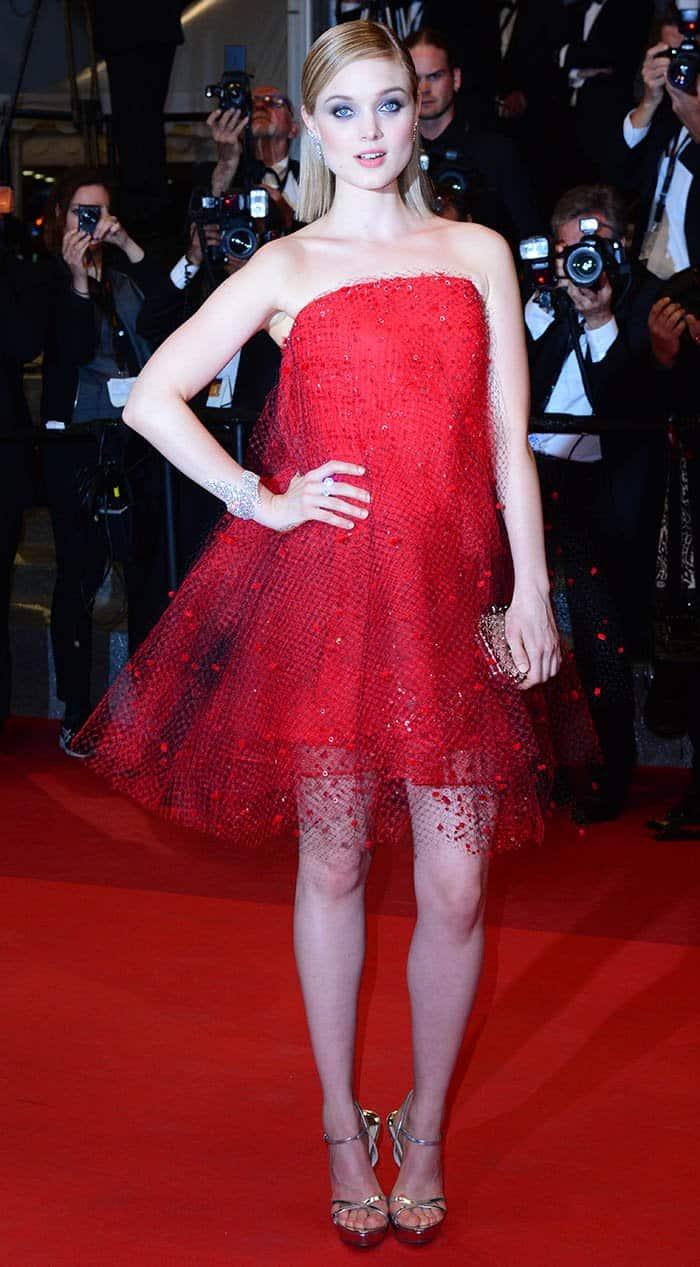 Bella Heathcote Armani Prive Dress2