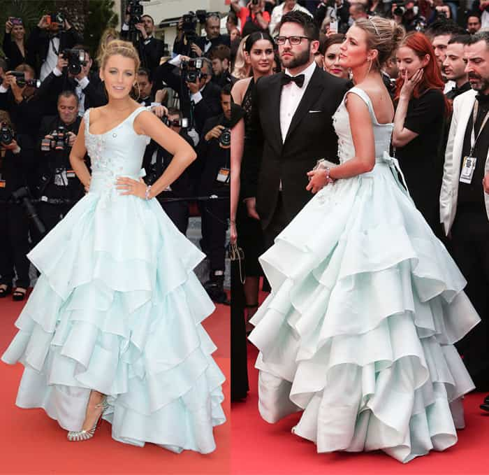 Blake Lively Vivienne Westwood Cannes Film Festival Dress1