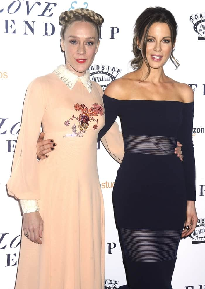 'Love & Friendship' screening in New York Featuring: Chloe Sevigny, Kate Beckinsale Where: New York, New York, United States When: 10 May 2016 Credit: Dennis Van Tine/Future Image/WENN.com **Not available for publication in Germany, Poland, Russia, Hungary, Slovenia, Czech Republic, Serbia, Croatia, Slovakia**