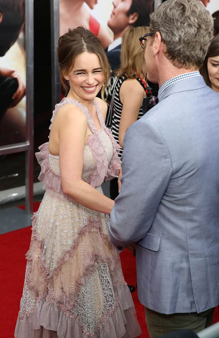 World premiere of 'Me Before You'