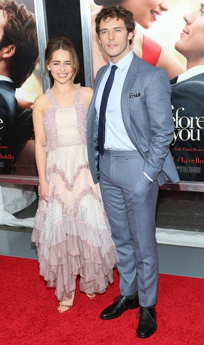 the World Premiere of 'Me Before You' NY