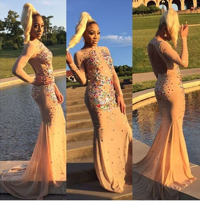18-Year-Old Girl Goes Viral with Beyonce-Inspired Prom Dress
