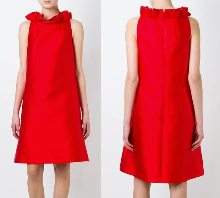 Lanvin Ruffled Neck Dress