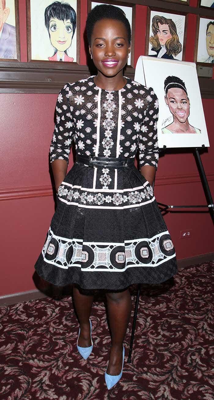 Lupita Nyong'o Sardi's Portrait Unveiling