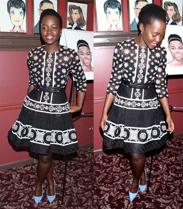 Lupita NyongO Elie Saab Dress2