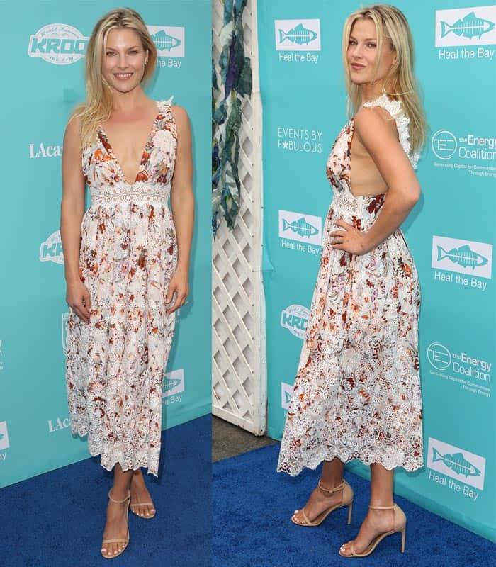 Ali Larter Heal the Bays Summer Dress2