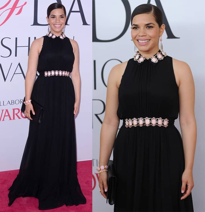 America Ferrera Kate Spade Dress2