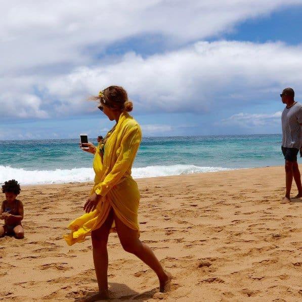 Beyonce Beach Dress