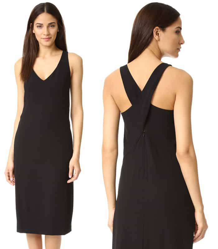 DKNY Cross Back Dress