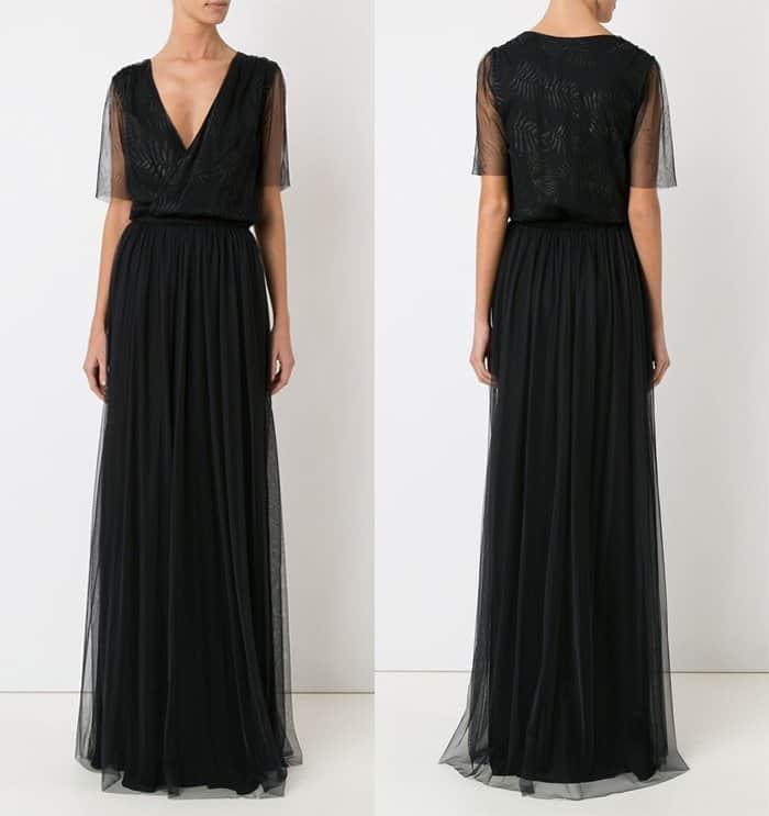 Emannuelle Junqueira Long Tulle Dress