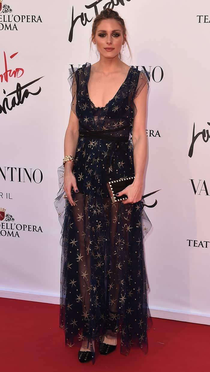 Olivia Palermo Valentino Dress1