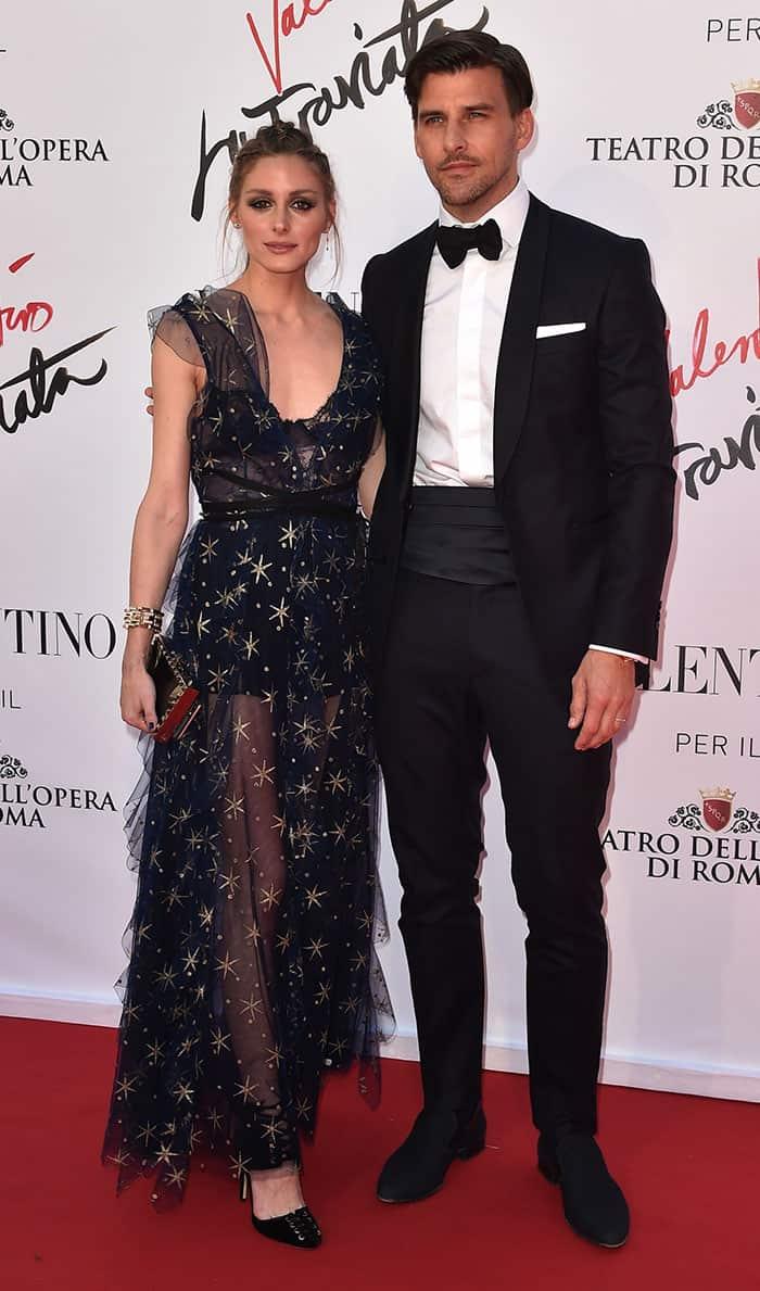 Olivia Palermo Valentino Dress2