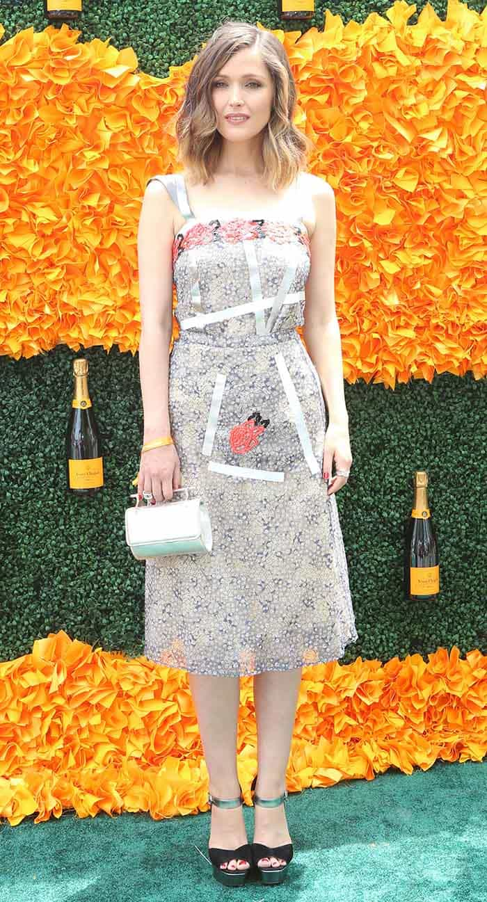 Rose Byrne 9th Annual Veuve Clicquot Polo Classic