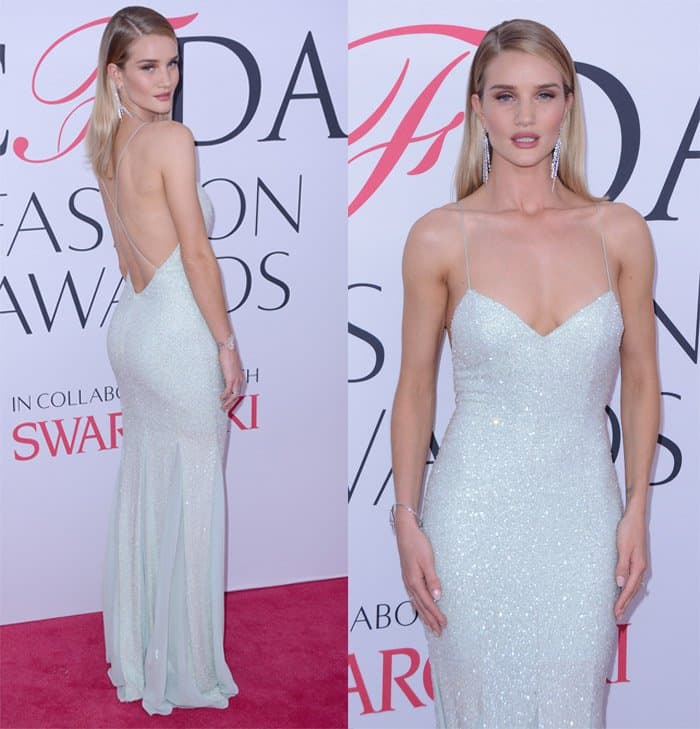 Rosie Huntington Whiteley Gown2