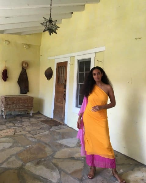 Solange Knowles Birthday Wardrobe